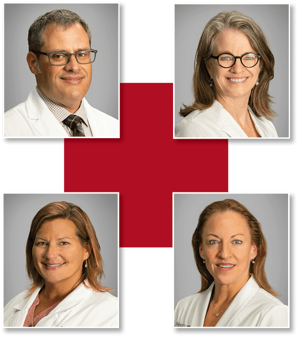 Primary Care Partners - headshots with cross
